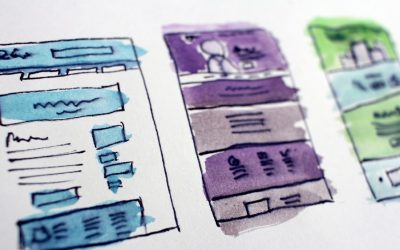 What should you think about when designing your website?